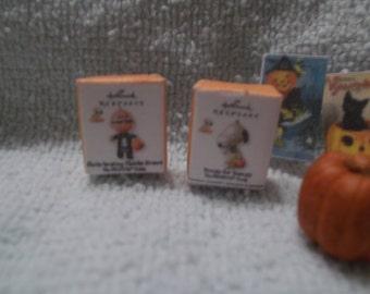 H-6        Halloween miniature set