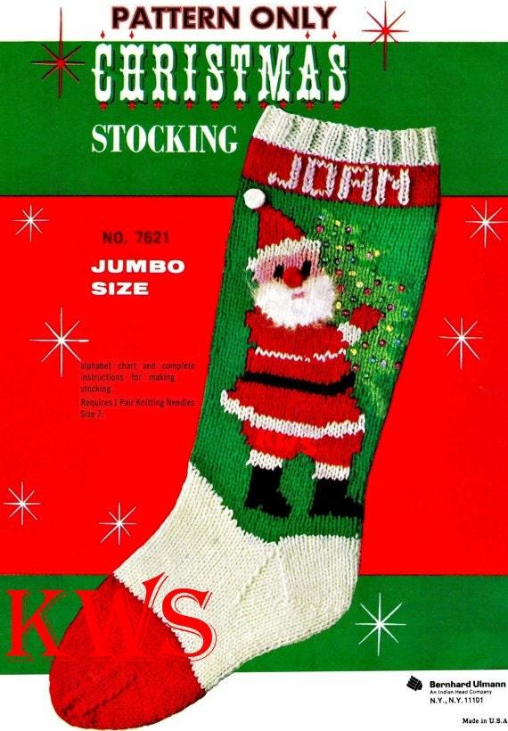 Christmas Stocking To Knit