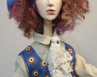 OOAK Art Doll ADELE