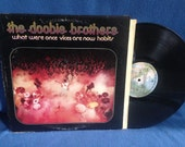 "Vintage, Doobie Brothers - ""What Were Once Vices Are Now Habits"" Vinyl LP, Record Album, Original Press, Classic Rock, Spirit, Black Water"
