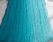 Stunning Soft & Silkie Scarf-Teal Turquoise Blue-SC253