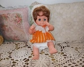 Uneeda Plastic Doll Drink and Wet Doll /SALE Use Coupon Code CLEARINGOUT25 Must Be used at check out can not change after paying