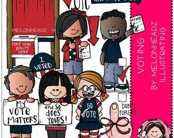 Voting clip art - COMBO PACK