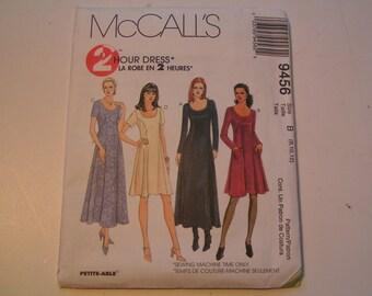 McCalls Pattern 9456 2 hour Dress