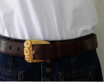 Genuine Leather Escada Belt