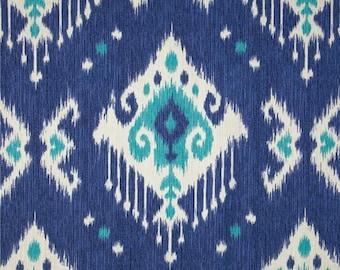 Blue Table Runner- Blue  Ikat Table Runner- Blue  Table Cloth.