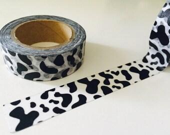 Cow Print Washi Tape