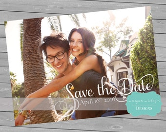 Save the Date, Save-the-Date Invite, Photo Save the Date Card, DIY Printable, Digital File
