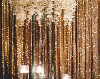 Sequin Drapes, 8 x8 feet, 10 Feet, 12 Feet, 14 feet, SEAMLESS, photo backdrop, Gold, Champagne, Rose Gold, Silver, Memorial Day, Photo booth