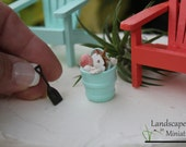 Miniature BEACH SAND SHOVEL for your Miniature Beach Vacation or Wedding Cake Topper  - by Landscapes In Miniature