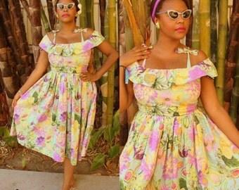 Babbette Dress - 1940s vintage style reproduction custom handmade