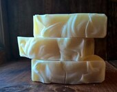 Coconut Cream Unscented Soap: vegan soap, Palm Free Soap, soap
