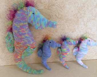 Rainbow Seahorse and his babies