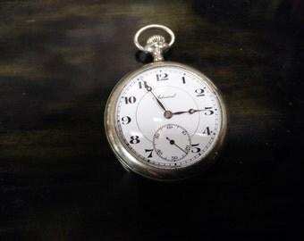Swiss Admiral 15 Jewel pocket watch. 1930's