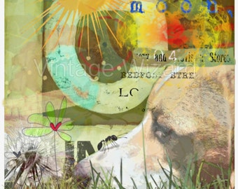 Digital download photography,digital art,Digital print,Collage,Surreal, Surreal art,Collage sheet, Printable