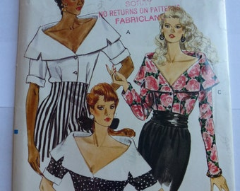 Vintage Very Easy Very Vogue Pattern 7445   Sizes 6-8-10