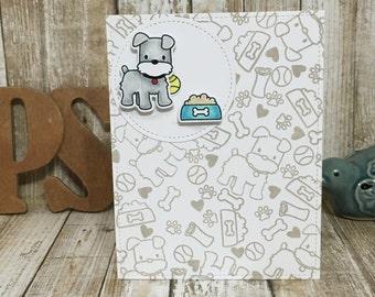Puppy love-Blank card