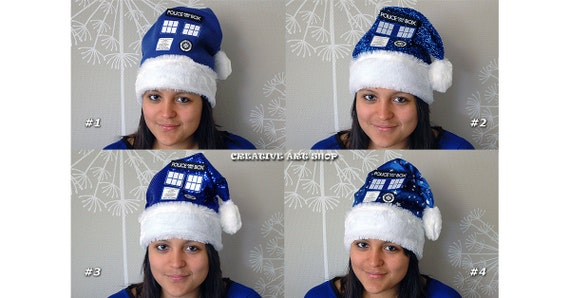 Inspired Doctor Who, Tardis Christmas-Party Hat