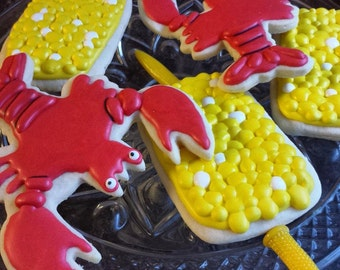 Lobster and Corn Cookies