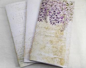 Fauxdori Traveler's Notebook Size Insert Blank Forgotten Meadows