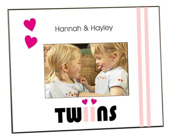 Customized Twins Photo Frame