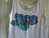 Vintage 90s YES Band Tour Shirt Tank Top sz M