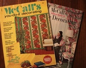 McCall's You Do It Decorating Magazines Book 6 Published 1969 and Book 9 Published 1971