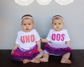 Twins Uno & Dos Baby Bodysuit and Youth T Shirts