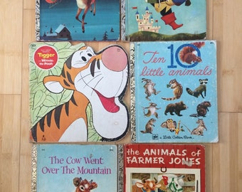 Set of Twelve Vintage Childrens Books