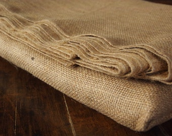 "10oz Jute Upholstery Burlap 40"" Wide By The Yard, 6 yards Available"