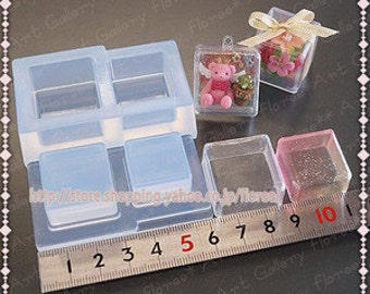 SALE 3d box mold for resin and clay