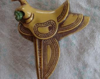 Vintage Western Saddle Pin