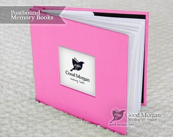 Baby Memory Book - Hot Pink