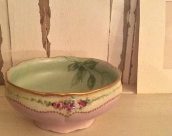 O &LG Austria bowl *antique pink