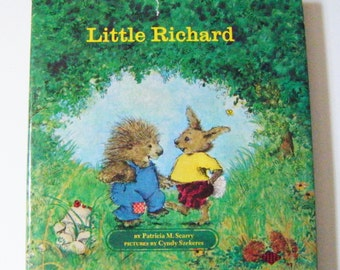 """First Edition 1970 """"Little Richard"""" By Patricia M. Scarry Hardcover Book With Dustjacket"""