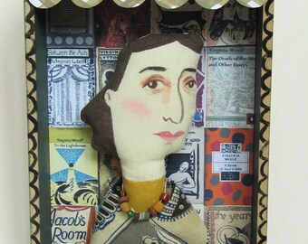 Virginia Woolf Boxed Art Doll