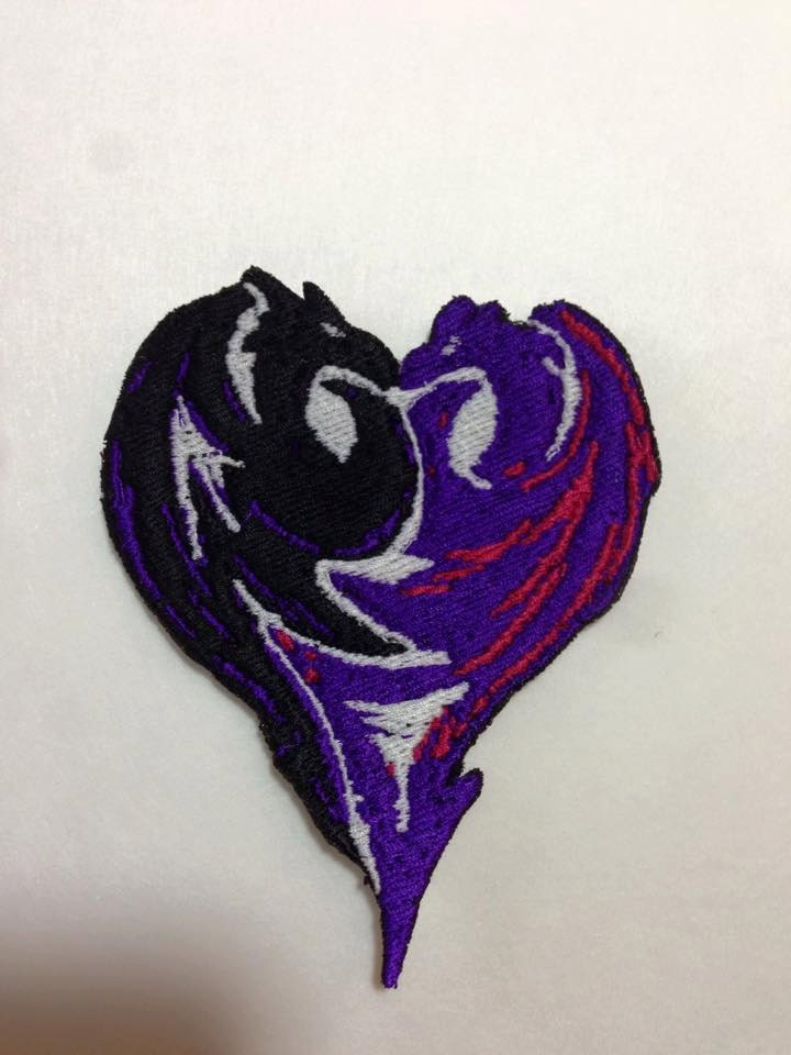 Iron On Patch Inspired Fan Art From Descendants Mals Double