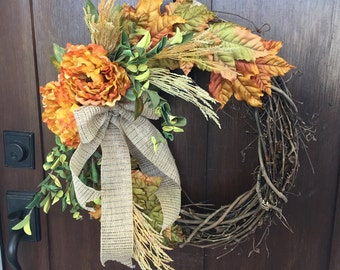 Fall Harveat Wreath
