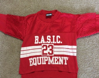 Vintage Basic Equipment Crop Top or Child's Shirt