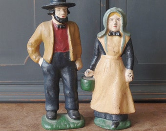Vintage Amish Pennsylvania Dutch, AH MAFA, Collectibles, Figurines, Home Decor