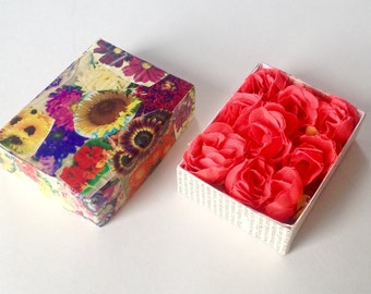Flower Box Assemblage