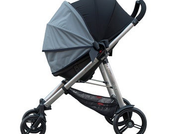 Stroller Canopy, Stroller Cover, Stroller Shade, Stroller Sun Shade SimpleShade - GREY