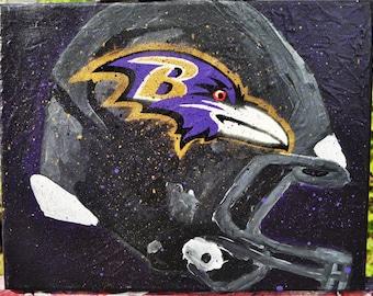 Baltimore Ravens Helmet fine art by Summo