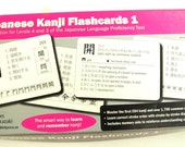 PRICE REDUCED! Japanese Kanji Flashcards 1 - Preparation for Levels 3 & 4 - Japanese Proficiency Test - Out of Print