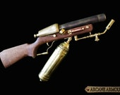 Steampunk Flame Thrower Rifle Prop (Non working display model)