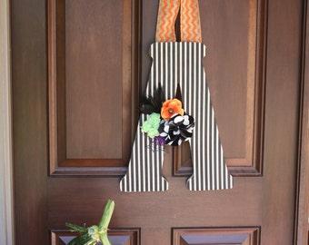 Honey Boo Boutique-Halloween-Hanging Letter-Front Door Decor-Fall-Autumn