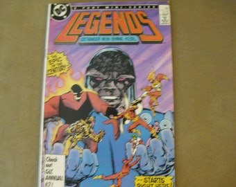 DC Legends comics Nov 1986 6 Part Miniseries  Very good no bending or tears