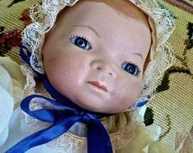 Poupée-<b>Marie Gerber</b> Gerber 1986 poupée - poupée de collection en biscuit ... - il_214x170.1078749843_b5tx
