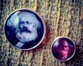 Karl Marx brooch