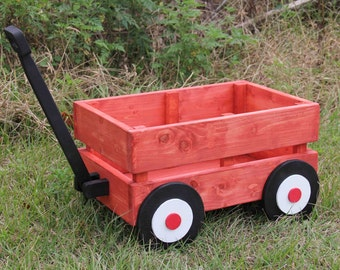 Wooden Wagon Photography Prop